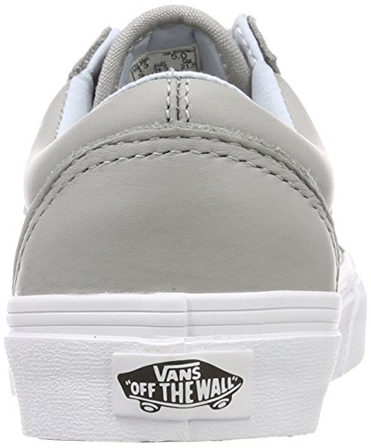 Vans Old Skool Chaussures De Running Mixte Adulte Gris Leather