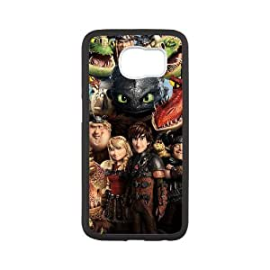 GGMMXO How to Train Your Dragon Phone Case For Samsung Galaxy S6 G9200 [Pattern-2]