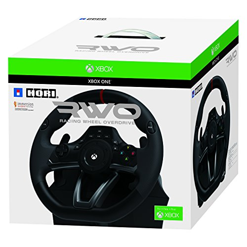(HORI Racing Wheel Overdrive for Xbox One Officially Licensed by Microsoft)