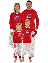 Family Matching Holly Jolly Christmas Lights Pajama PJ Sets