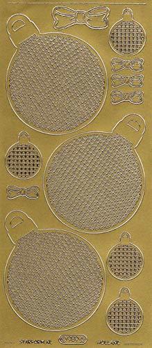 (Starform 969 Gold Grid Ornaments Peel-Off Stickers)