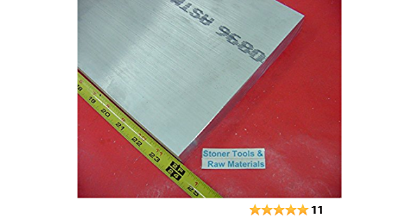 """6061 Aluminum Bar 2/"""" x 3/"""" SOLD BY THE INCH up to 144/"""" 12 feet"""
