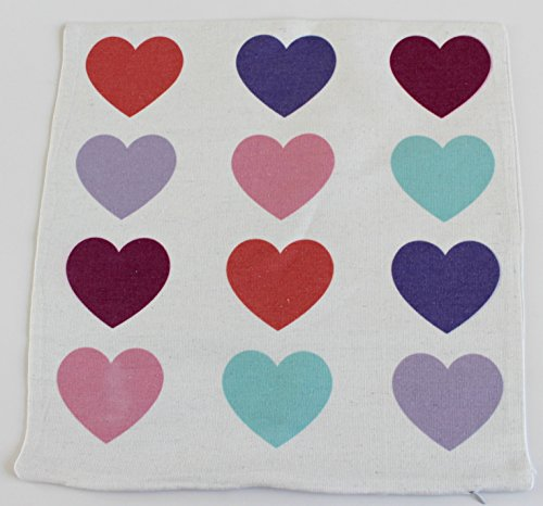 Ftd Elegant Bouquet (Valentines Day Covers Pillowcases Throw Pillows Sofa Bedding Home Decor Cushion Cover (17X17 COLORED HEARTS), Colored Hearts Pillow Case, Heart Pillow Cover, Heart Décor For Home, Heart Decor)