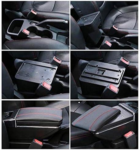 Car Armrest For Astra J 2009 2011 Armrest Rotatable Storage Box Decoration Car Styling Auto