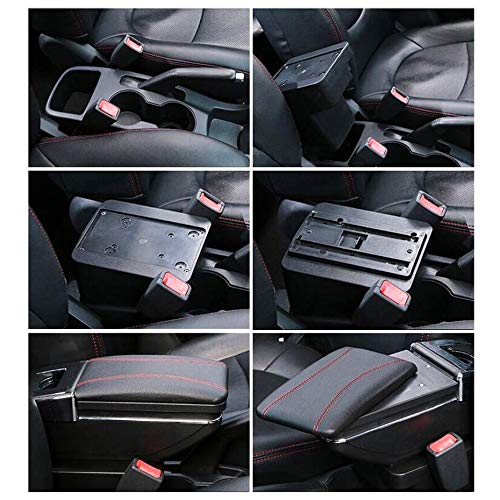 Car Armrest For Astra J 2009-2011 Armrest Rotatable Storage Box Decoration Car Styling