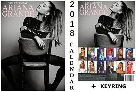 Ariana Grande calendario 2018 + Ariana Grande llavero ...