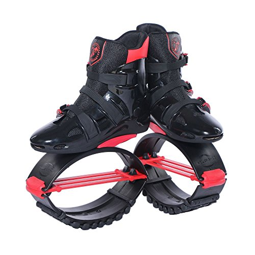 Black and Red Unisex Fitness Jumping Shoes XL
