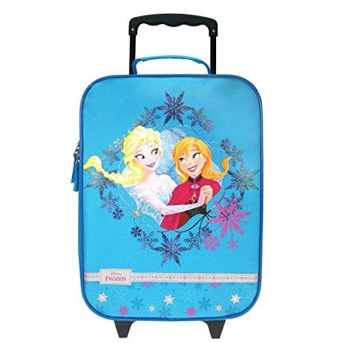 FROZEN Die Eiskönigin Elsa & Anna & Olaf Trolley Kofferwagen Tasche Urlaub Disney