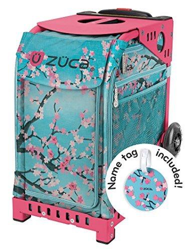 ZUCA ''New'' Sport Insert Bag ''Hanami''with Sport Frame: Pink by ZUCA by ZUCA