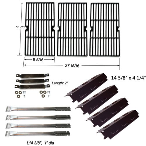 Charbroil 463440109 Replacement Burners,Carryover Tubes,Heat Plates,Grill