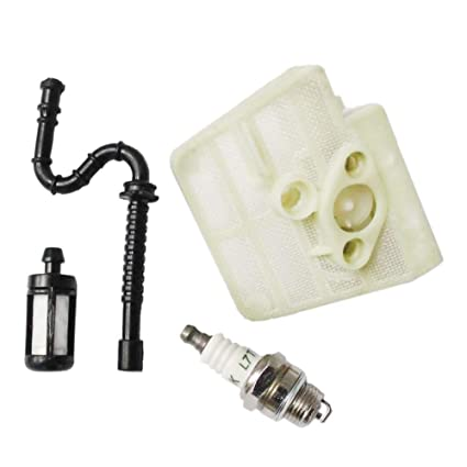 Amazon.com : Poweka Air Filter + Oil Line + Spark Plug + Fuel Filter