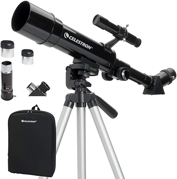 Telescopio Celestron Powerseeker 50AZ Terrestre e Astronomico Completo TRAVEL VE