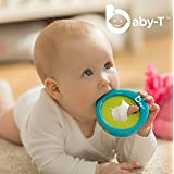 Baby-T (Blue) Baby's 1st MP3, Multi-use Bracelet, Teether, Music Player, Voice Recorder and Baby Bottle Holder, Safe for All Ages 0-48 Months, The Perfect Infant Gift.