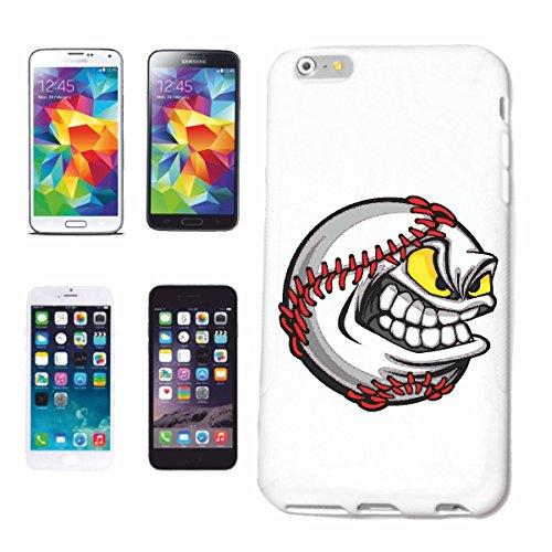 """cas de téléphone iPhone 6S """"WICKED BASEBALL BAT BASEBALL PLAYER BASEBALL SHIRT BASEBALL ÉQUIPE"""" Hard Case Cover Téléphone Covers Smart Cover pour Apple iPhone en blanc"""
