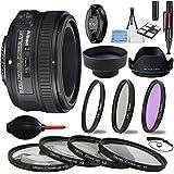 Nikon AF-S FX NIKKOR 50mm f/1.8G Lens with Auto Focus for Nikon DSLR