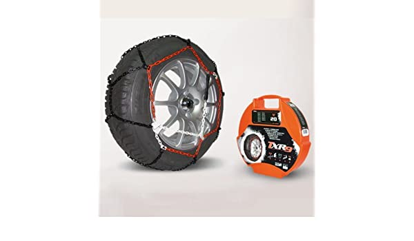 Juego de cadenas N80-TXR9 para neumático de coche, para nieve, 9 mm, TUV aprobado: Amazon.es: Coche y moto