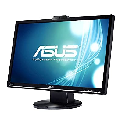 """ASUS VK228H-CSM 21.5"""" Full HD 1920x1080 HDMI DVI-D VGA 1.0M Web cam (Fixed) Back-Lit LED Monitor"""