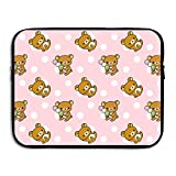 Summer Moon Fire Rilakkuma Briefcase Handbag Case Cover for 13-15 Inch Laptop, Notebook, MacBook Air/Pro
