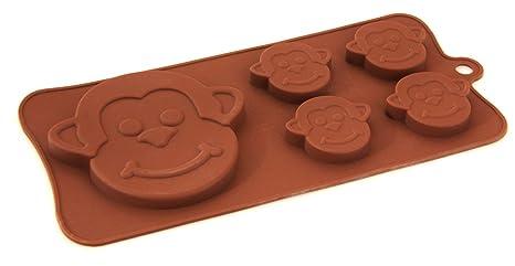 Cheeky monos Chocolate molde de silicona para Chocolate
