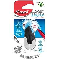 Maped 106310 Technic Duo Borrador, 1 unidad, colores surtidos