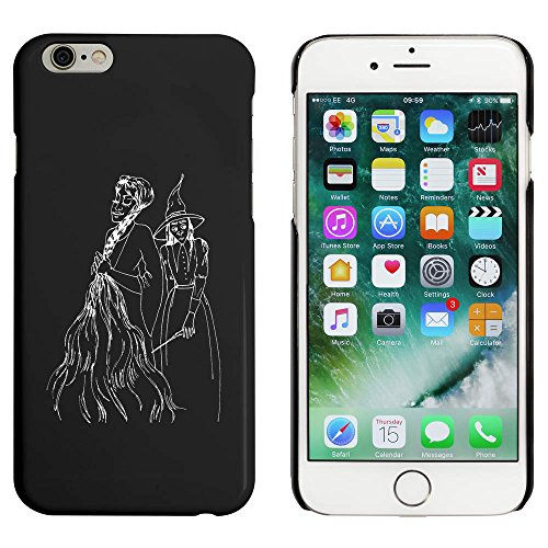 Schwarz 'Rapunzel und Hexe' Hülle für iPhone 6 u. 6s (MC00023405)