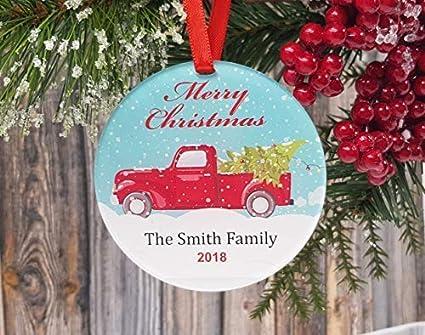 Car Christmas Ornaments.Amazon Com Weewen Personalized Christmas Ornaments Car