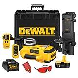 DEWALT DW079KD 18-Volt Self Leveling Inetrior/Exterior Rotary Laser Kit with Laser Detector