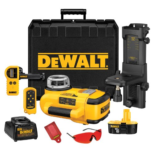 028877590783 - DEWALT DW079KD  18-Volt Self Leveling Interior/Exterior Rotary Laser Kit with Laser Detector carousel main 0