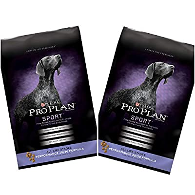 2 Bags of Purina Pro Plan Sport All Life Stages Performance 30/20 Formula Dry Dog Food 6-lbs ea