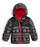 The North Face Infant Thermoball Hoodie White Holiday Fair Isle (24 Month)
