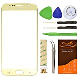 Samsung Galaxy S6 Gold Plating Replacement Front Outer Lens Glass Screen ...