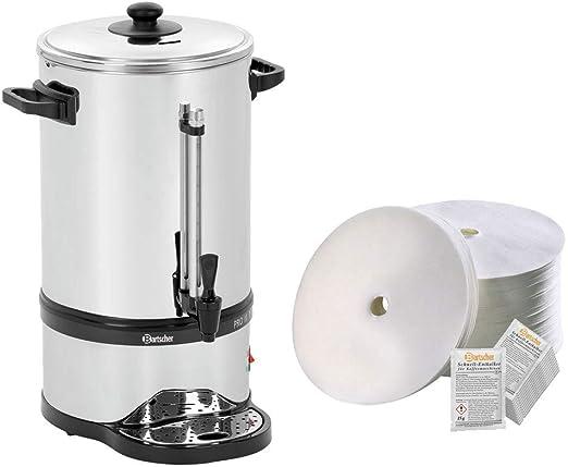 Bartscher redondo Cafetera de filtro Pro Plus 100T + 500 redondo ...