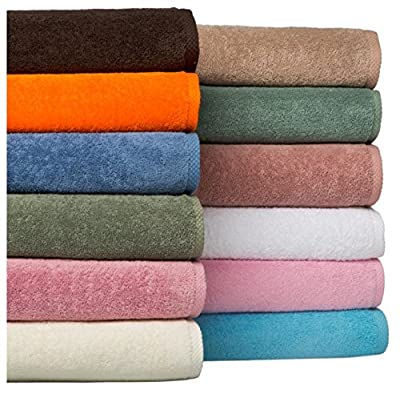 Fast Drying Extra Large Bath Towel Set, Decorative & Luxury Premium Turkish Cotton Towels for Clearance - Spa & Hotel Quality - Pack of 8 including 2 Oversized Bath Sheets (30x60)