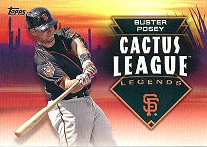 super popular 39b9b 357ba Amazon.com: 2019 Topps Cactus League Legends #CLL-13 Buster ...