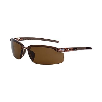 Crossfire 291113 Es5 gafas polarizadas gafas de seguridad con de alta definición marrón polarizadas lente y