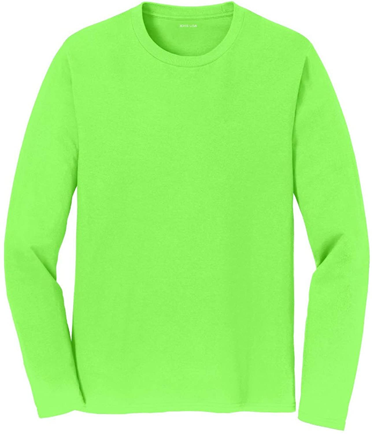 1084b4d808a Joe s USA(tm) Mens Long Sleeve 4.5oz Lightweight Soft Cotton T-Shirt with  short sleeves and designed with superior ring-spun cotton for comfort.