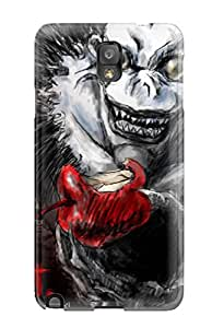 Slim Fit Tpu Protector Shock Absorbent Bumper Death Note Case For Galaxy Note 3