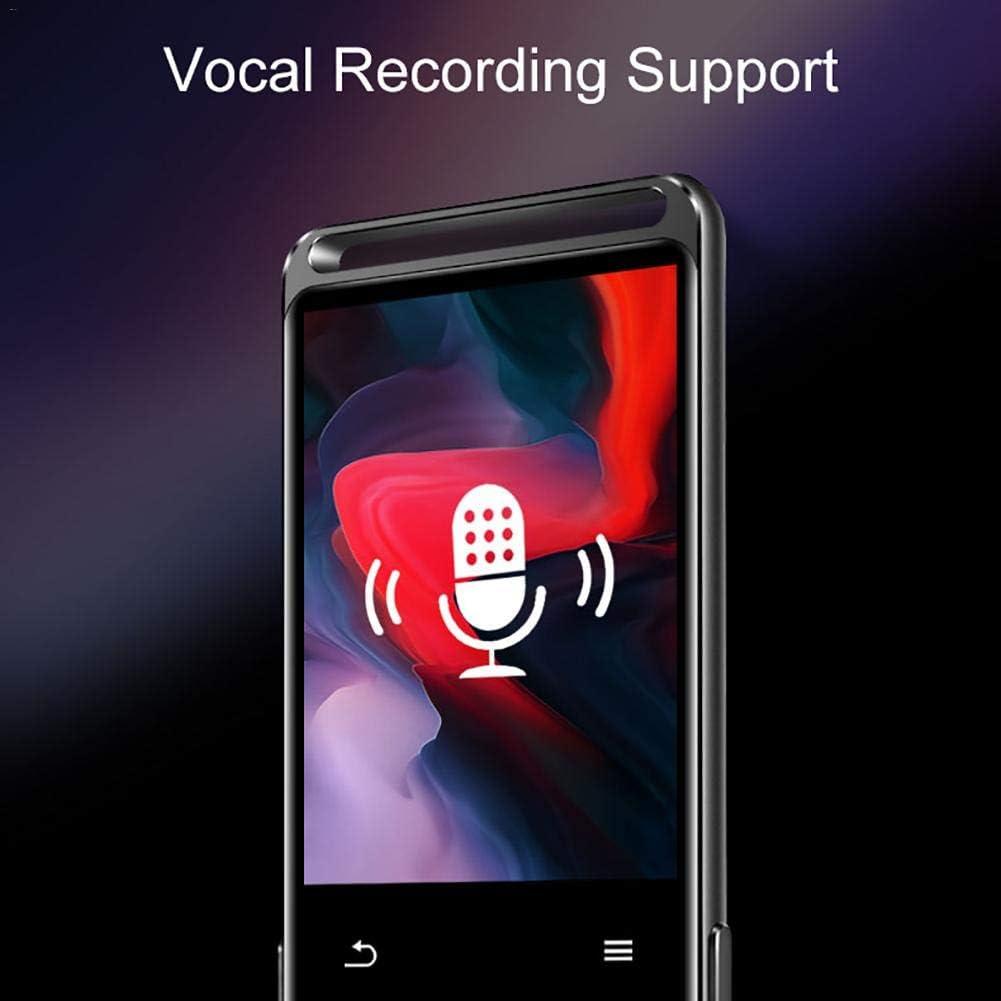 EDtara Regalo per Donne Uomini Benjie M6 Bluetooth 5.0 Lettore MP3 Portatile Hi-Fi Lettore Audio con Radio FM e-Book Lettore Musicale MP3