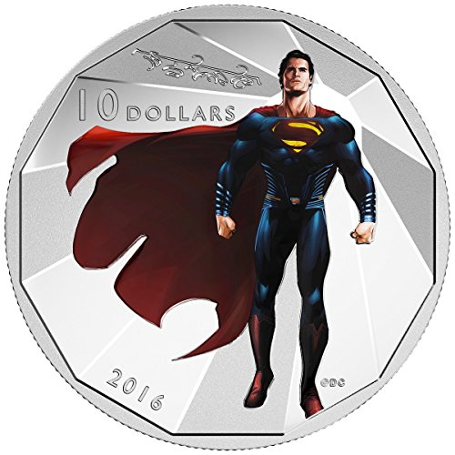2016 CA Batman v Superman $10 Fine Silver Coin Dawn of JusticeTM - SUPERMANTM. $10 Mint State
