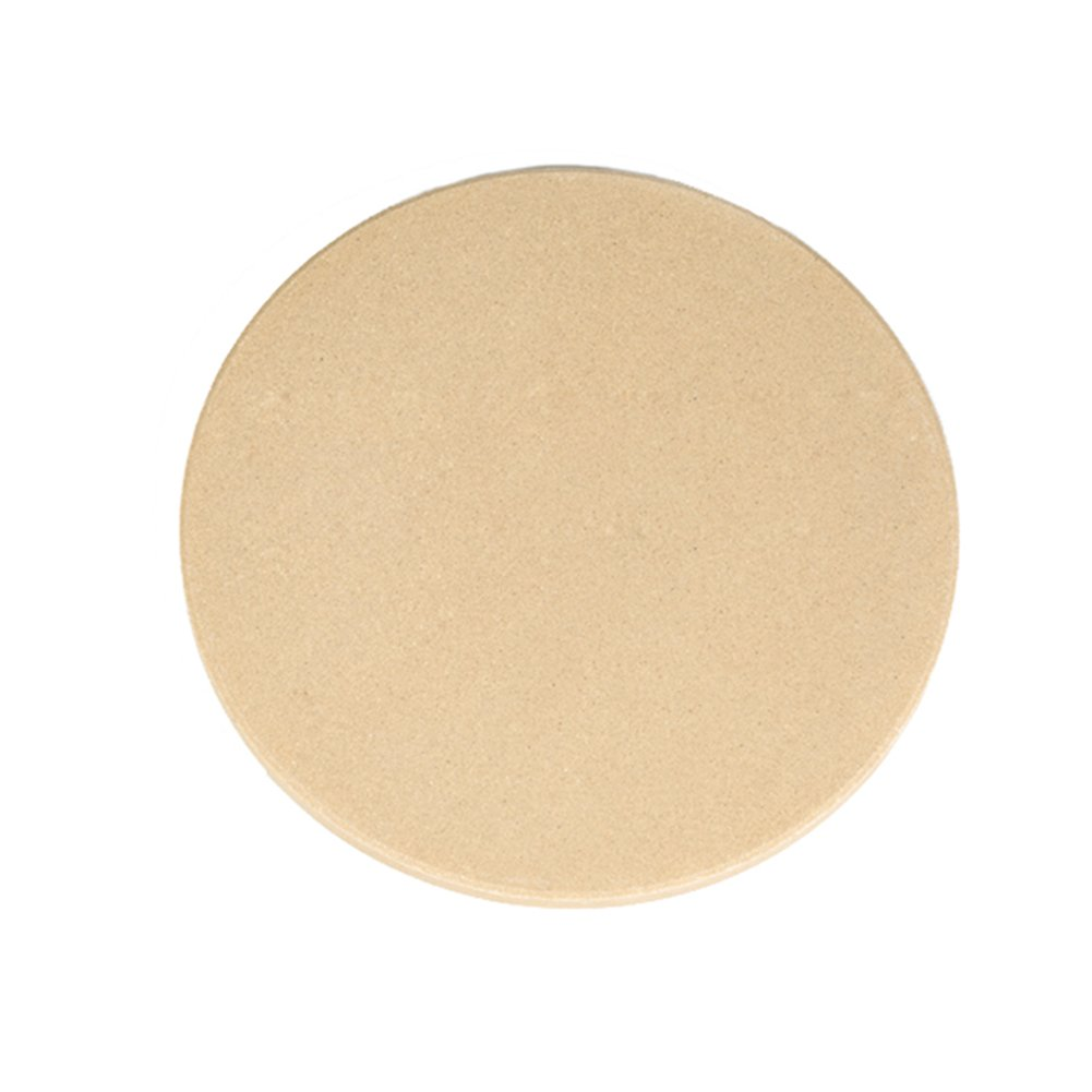 Dofover 13'' Round Extra Thick Pizza Stone for Oven & BBQ Grill (13 Inch - C)