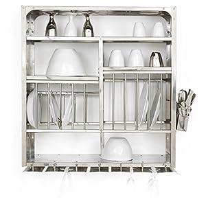 Amazon Com Dish Drying Display Rack Stainless Steel Hand