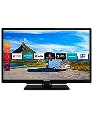 Telefunken XH24G501V Televisie, 61 cm, 24 Inch, Zwart