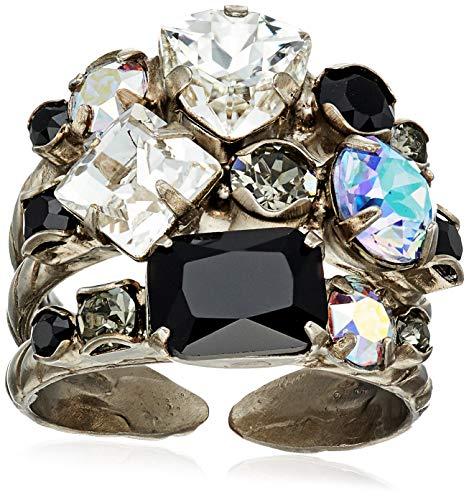 - Sorrelli Women's Sedge Ring, 1, Black