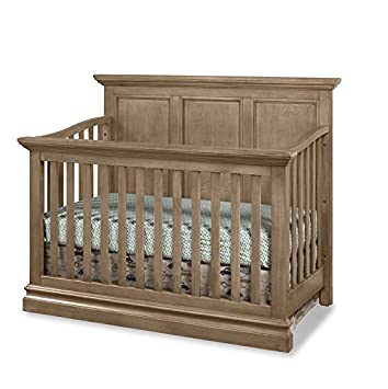 Westwood Design Pine Ridge 4 in 1 Panel Convertible Crib, Cashew