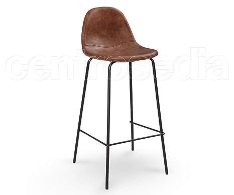 Centrosedia micky sgabello vintage industriale design in metallo