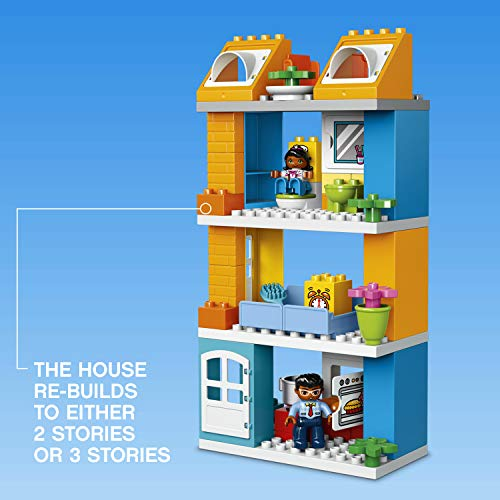 Jual Lego Duplo My Town Family House 10835 Building Block Toys For
