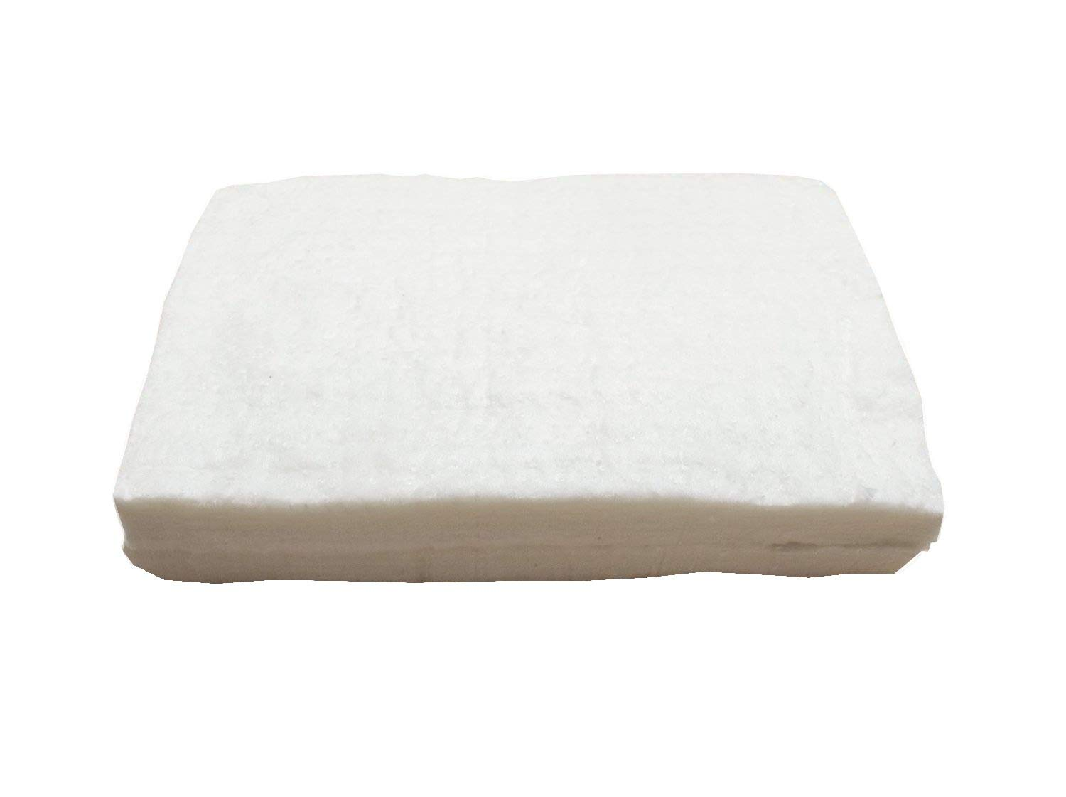 UniTherm Ceramic Fiber Insulation (6# Density, 2300°F), TWO (2) (12L X 8H X 1D Inch) Blankets for Lampworking (Flameworking) and Glass Beadmaking by UniTherm International