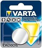 GWS POWERCELL® - Batterie a bottone VARTA PROFESSIONAL CR1216 / CR1220 / CR1225 / CR1616 / CR1620 / CR1632 / CR2016 / CR2025 / CR2032 / CR2320 / CR2430 / CR2450, confezionate in blister singoli CR2025 10 pezzi