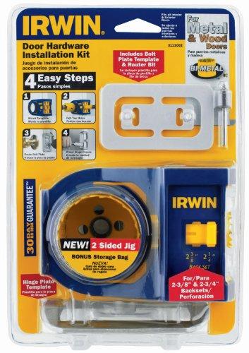 American Tool 17104 Bi-Metal Door Lock Installation Kit by Irwin Tools by Irwin Tools (Image #1)