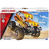 Meccano Canyon Crawler Model Building Set, 190 Pieces, For Ages 10+, STEM Construction Education Toy